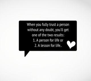 Обои на телефон человек, доверять, новый, крутые, жизнь, trust a person, results, lesson, doubt