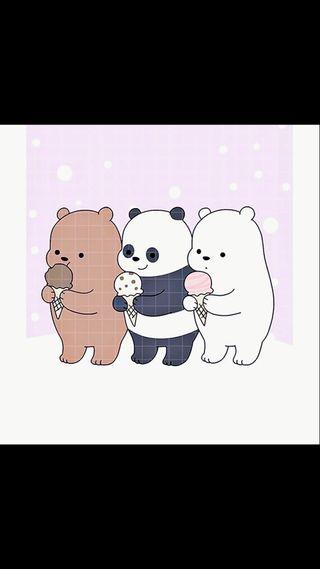 Обои на телефон панда, милые, cute panda