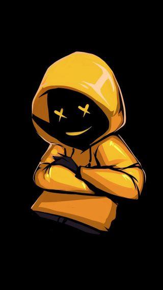 Обои на телефон маршмеллоу, черные, улыбающийся, песня, мальчик, малыш, желтые, black and yellow