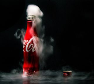 Обои на телефон лед, кола, кока, ice coca cola