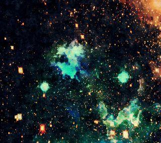 Обои на телефон ночь, небо, космос, галактика, вселенная, galaxy