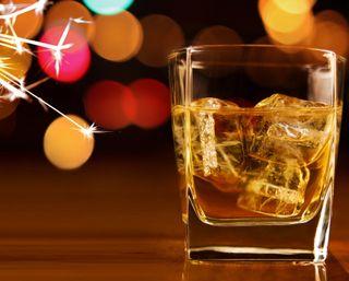 Обои на телефон виски, рождество, новый, алкоголь