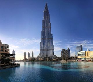 Обои на телефон оаэ, небоскребы, дубай, бурдж, burj khalifa