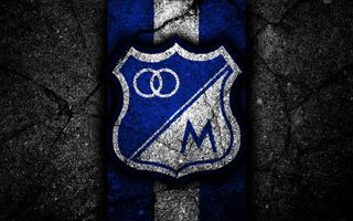 Обои на телефон футбольные клубы, колумбия, футбол, логотипы, клуб, millonarios fc, millonarios