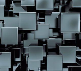 Обои на телефон кубы, блоки, 3д, 3d