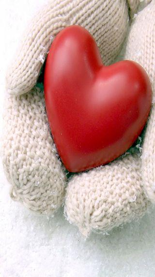 Обои на телефон холод, сердце, любовь, красые, love