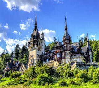 Обои на телефон здания, замок, европа, евро, dope castle