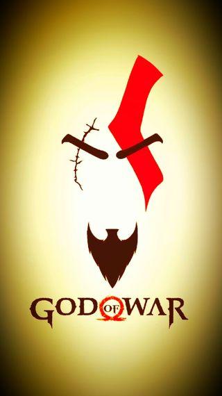 Обои на телефон популярные, новый, логотипы, игры, игровые, война, бог, hairyson, graplenn, god of war logo