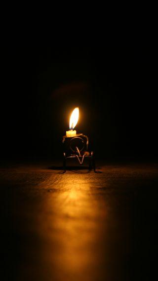 Обои на телефон свеча, свет