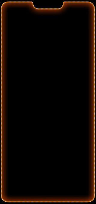 Обои на телефон свет, решить, оранжевые, дом, грани, выемка, uhd, oneplus6, oneplus 6 orange, oneplus 6, oneplus, hd