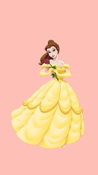 Обои на телефон принцесса, дисней, disney, belle