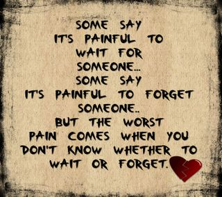 Обои на телефон боль, приятные, поговорка, новый, любовь, забудь, ждать, грустные, wait or forget, love