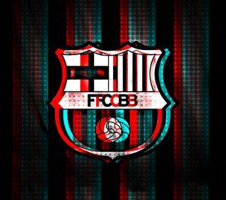 Обои на телефон футбольные, месси, логотипы, fcb logo, fans
