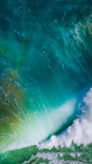 Обои на телефон волна, фон, прекрасные, океан, вода, ios 10