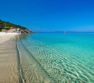Обои на телефон синие, море, мечтательные, dreamy sea, blue sea