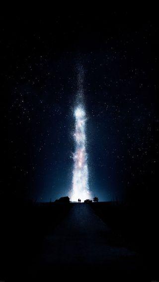 Обои на телефон снег, природа, ночь, небо, космос, звезды, звездное, tumblr, note