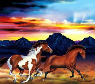 Обои на телефон лошади, prekaa