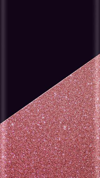 Обои на телефон фиолетовые, супер, стиль, розовые, дизайн, грани, абстрактные, s7, edge style