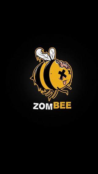 Обои на телефон пчела, зомби, zombee