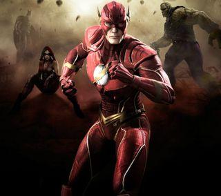 Обои на телефон чудо, флэш, несправедливость, женщина, бэтмен, injustice 2 flash, injustice 2, dc