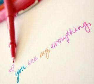 Обои на телефон ты, мой, милые, любовь, лучшие, you r my everything, s3, love