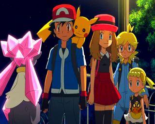Обои на телефон анимационные, японские, покемоны, анимация, pokemon xy, japanese animation