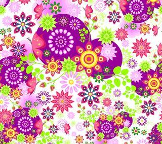 Обои на телефон цветочные, лето, весна, шаблон, поток, красочные, восточные, абстрактные
