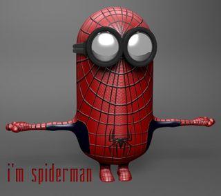 Обои на телефон человек паук, миньоны, забавные