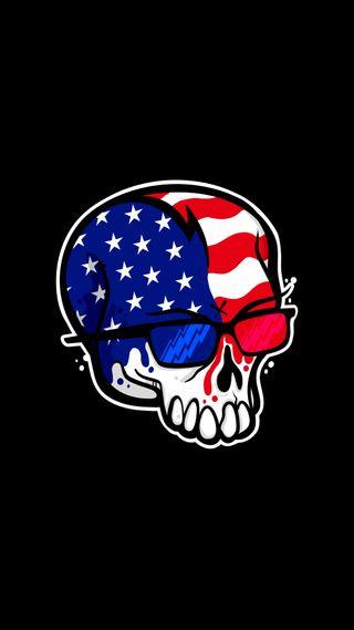 Обои на телефон флаг, странные, лицо, крутые, иллюстрации, арт, pixel, lacko, flag face, art, 8бит