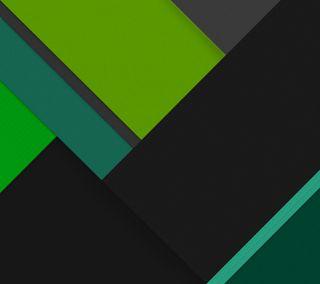 Обои на телефон черные, темные, плоские, материал, зеленые, андроид, lollipop, five, android