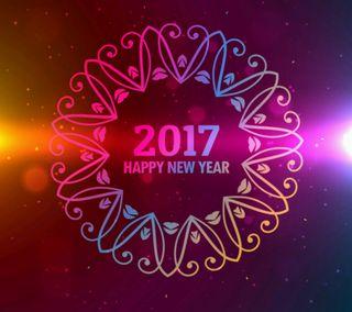 Обои на телефон фестиваль, счастливые, рисунки, новый, мультфильмы, знаки, дизайн, год, высказывания, абстрактные, happy new year 2017