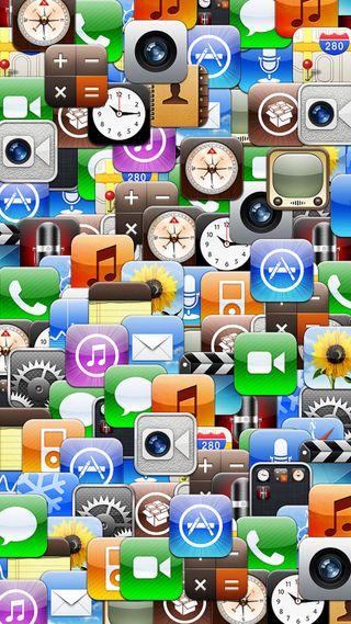 Обои на телефон иконки, икона, iconic