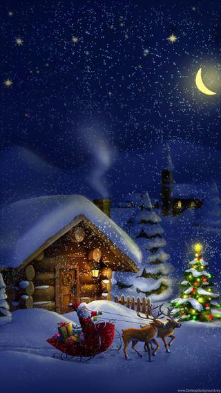 Обои на телефон санта, рождество, галактика, invierno, guardianes