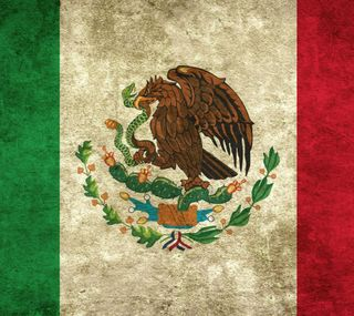 Обои на телефон мексика, флаг