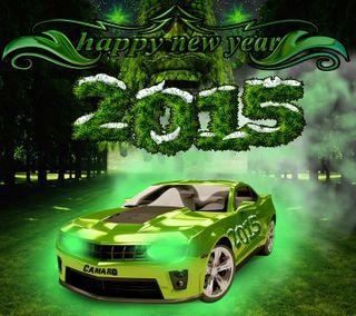 Обои на телефон камаро, счастливые, новый, машины, каникулы, new years, happy new years, 2015