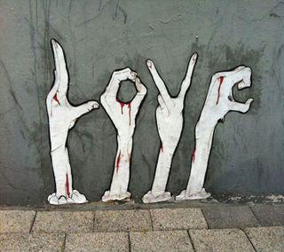 Обои на телефон палец, любовь, знаки, love, blooding love