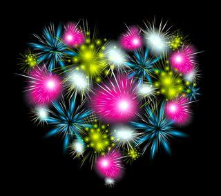Обои на телефон фейерверк, фон, красочные, дизайн, абстрактные, fireworks colorful