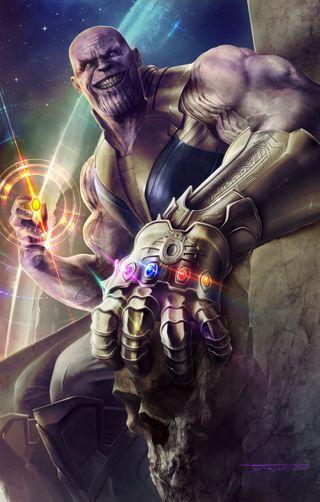 Обои на телефон танос, бесконечность, война, infinity