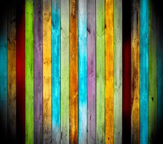 Обои на телефон цветные, дерево, фон, красочные, wood planks, colorful background, colored wood