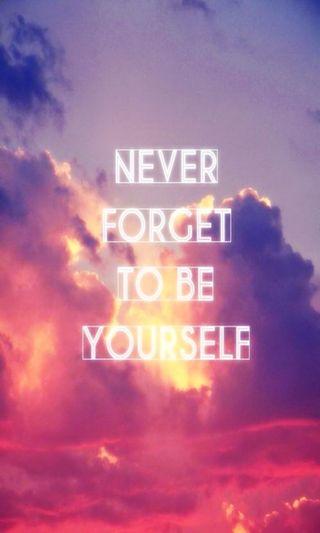 Обои на телефон себя, никогда, забудь, будь, be yourself