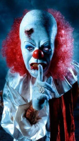 Обои на телефон клоун, жуткие, jwsrtjt, htnvj, creepy clown