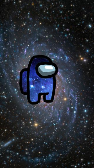 Обои на телефон космос, галактика, амонг, among us galaxy