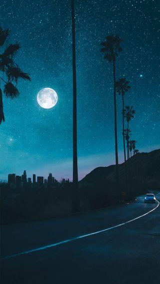 Обои на телефон снег, звезды, небо, sky full of stars, amigos