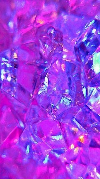 Обои на телефон симпатичные, красота, цветные, фиолетовые, кристаллы