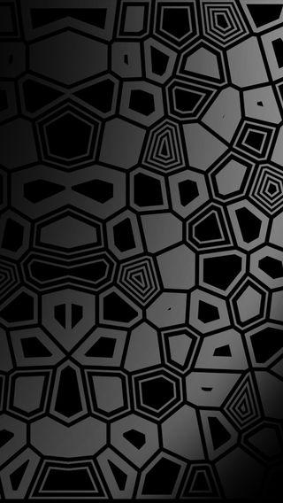 Обои на телефон black silver, black silver design, черные, дизайн, серебряные