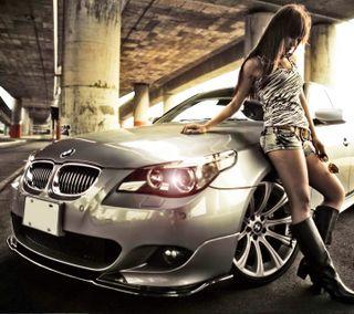 Обои на телефон bmw, hd, stylish girl, милые, девушки, бмв, машины, гонка, стильные