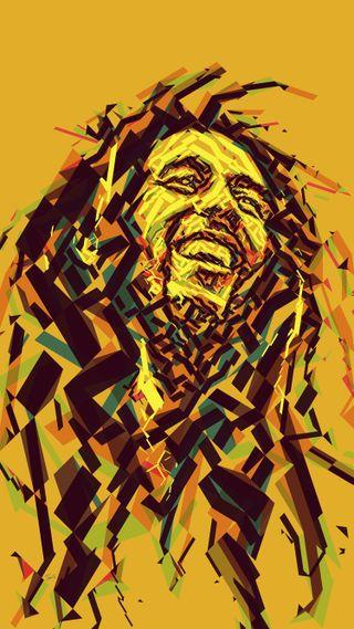 Обои на телефон племенные, цветные, смайлики, рисунки, регги, музыка, боб, marley