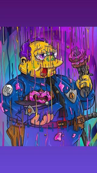 Обои на телефон рисунок, аниме, jefe gorgori, dibujo animado