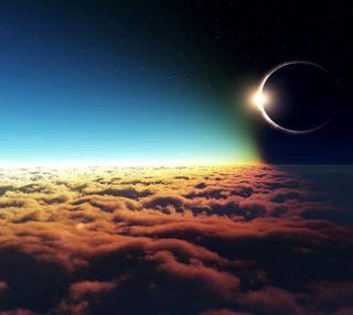 Обои на телефон солнечный, затмение, solar eclipse, -----------------
