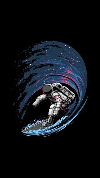Обои на телефон эффекты, туман, космонавт, лучшие, капли, вода, абстрактные, astronaut surfer